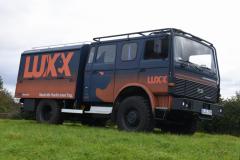 Der LUXX macht sich gut.