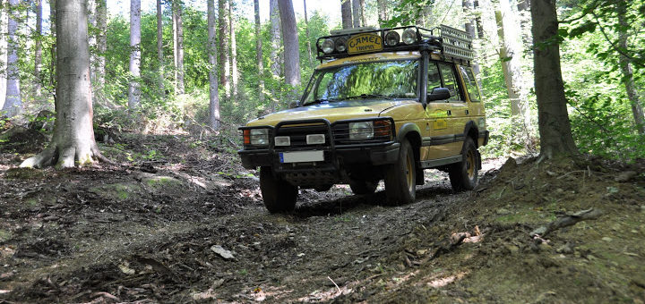 Landyfriends Oldtimer-Tour 2015