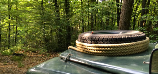 Landyfriends Oldtimer Scouting-Tour 2015