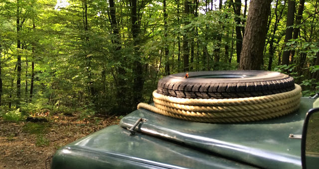 Landyfriends Oldtimer Scouting-Tour 2015