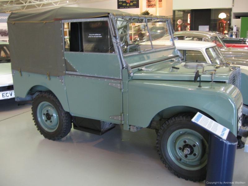 Land Rover Serie I - HUE 166