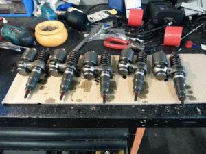 Td5, Pumpe-Düse-Elemente
