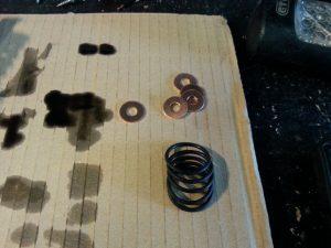 Td5, Pumpe-Düse-Elemente Kupferdichtringe, O-Ringe