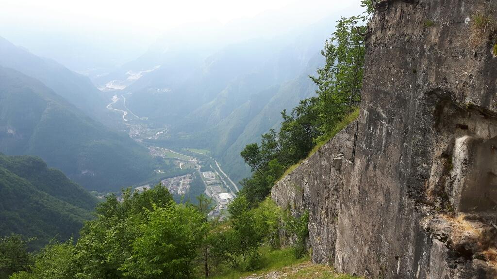 Blick über das geschützte Tal.