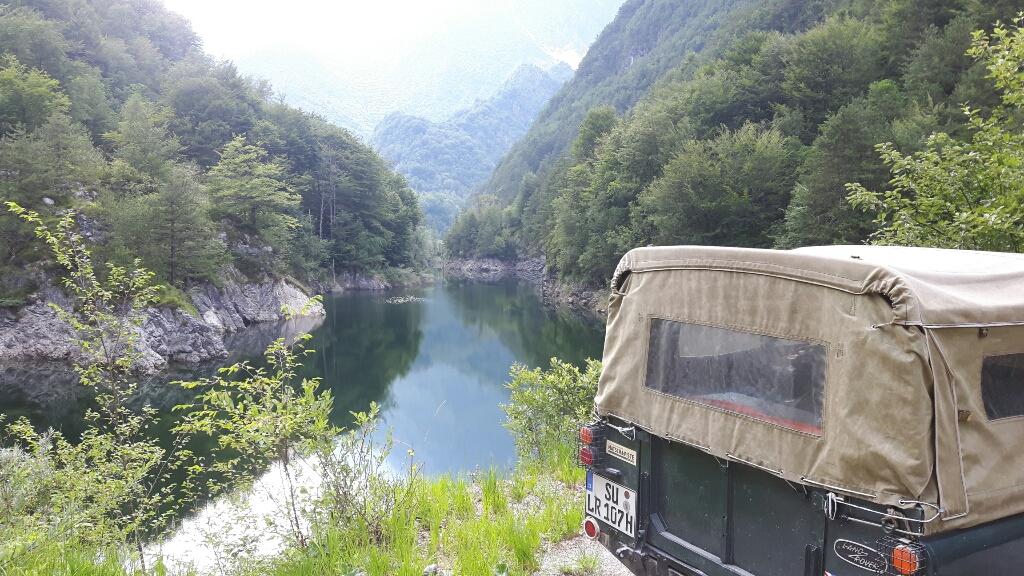 Idylle am Lago di Ca Selva.