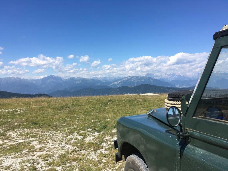 Blick vom Monte Lisser.