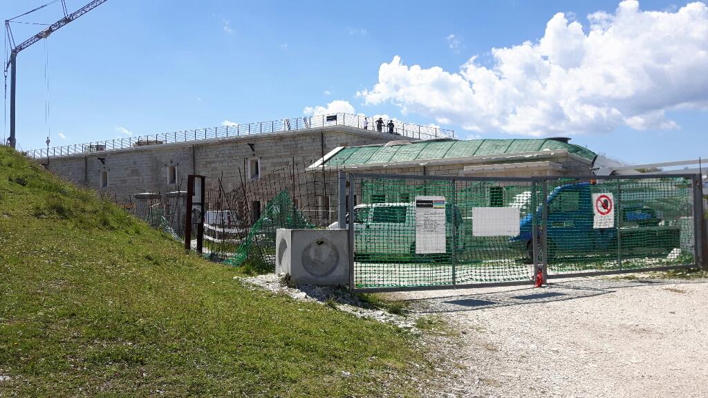 Baustelle Fort Lisser.