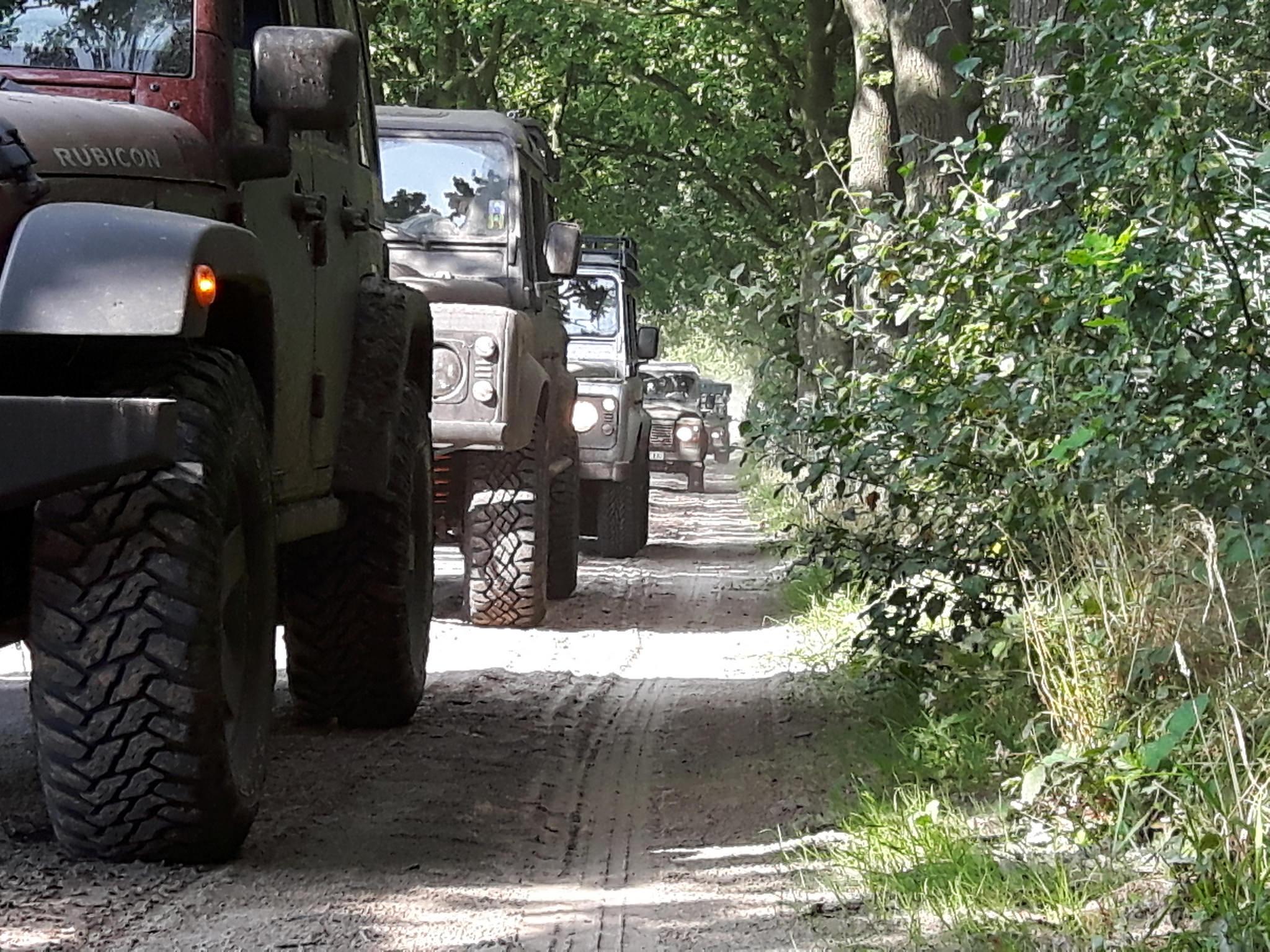 4x4-Experience Heidesand-Brabant-Tour