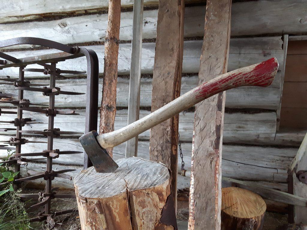 Wann sie wohl zuletzt benutz wurde? Eine verlassene Sennerei, über 100 Jahre alt.