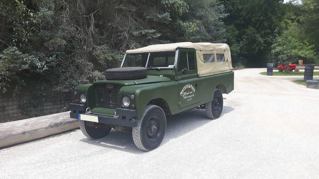 Land Rover Serie IIa - Bei der Adventure Southside in Eigeltingen.