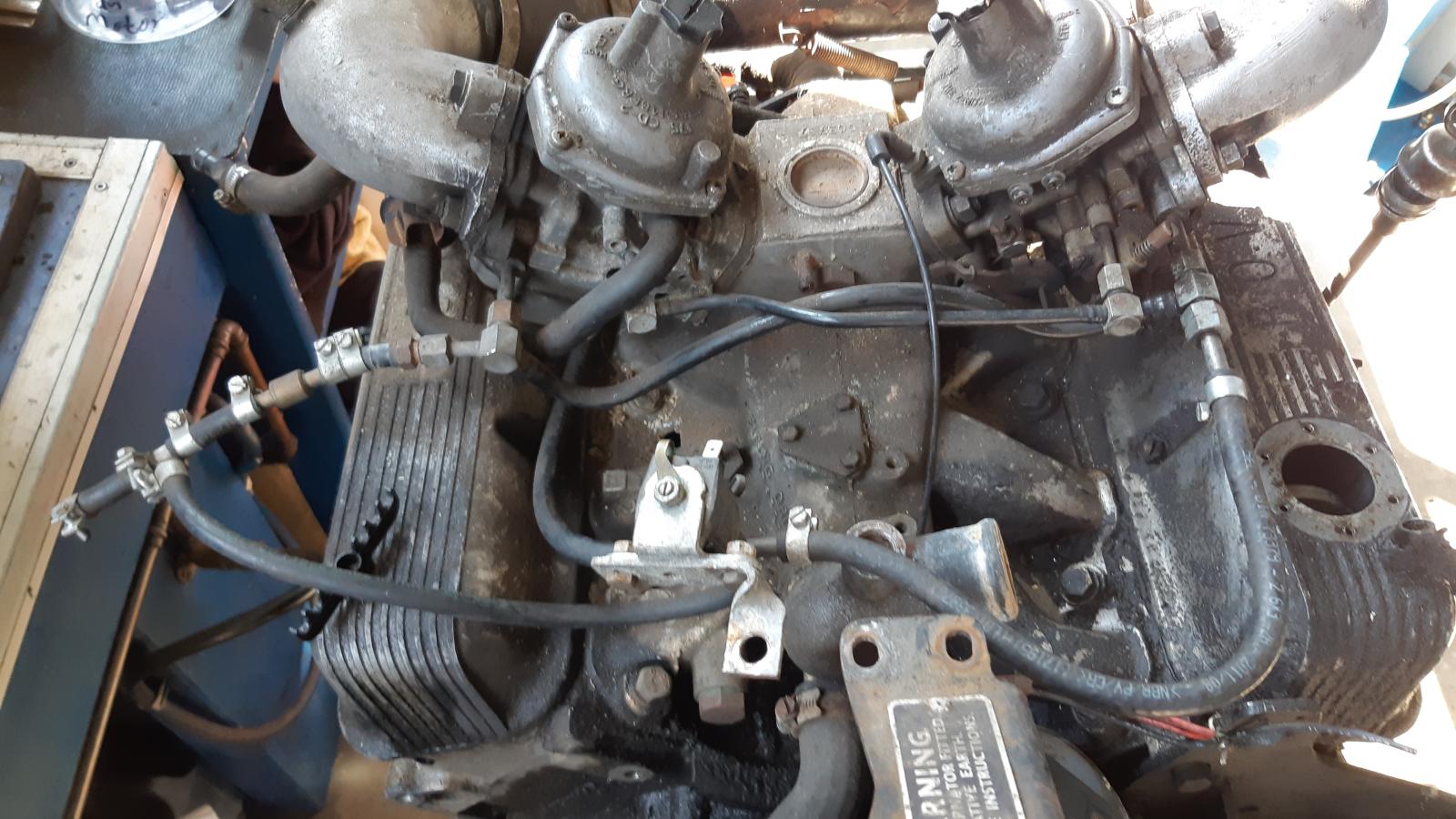 Rover 3.5 V8 fertig zum Bearbeiten.
