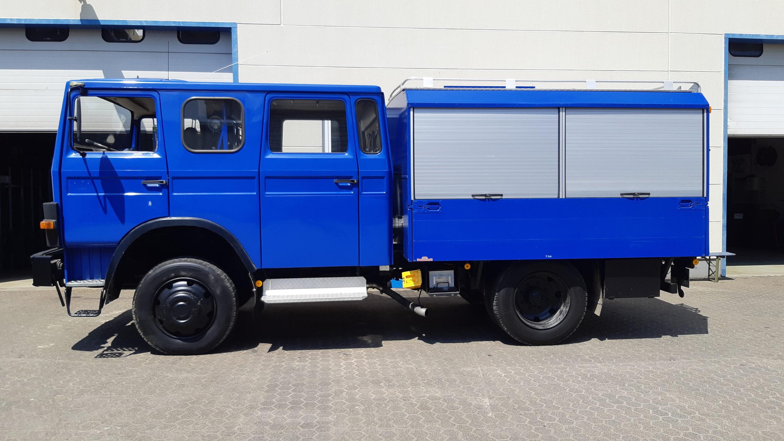IVECO 90-16 mit Originalreifengröße.