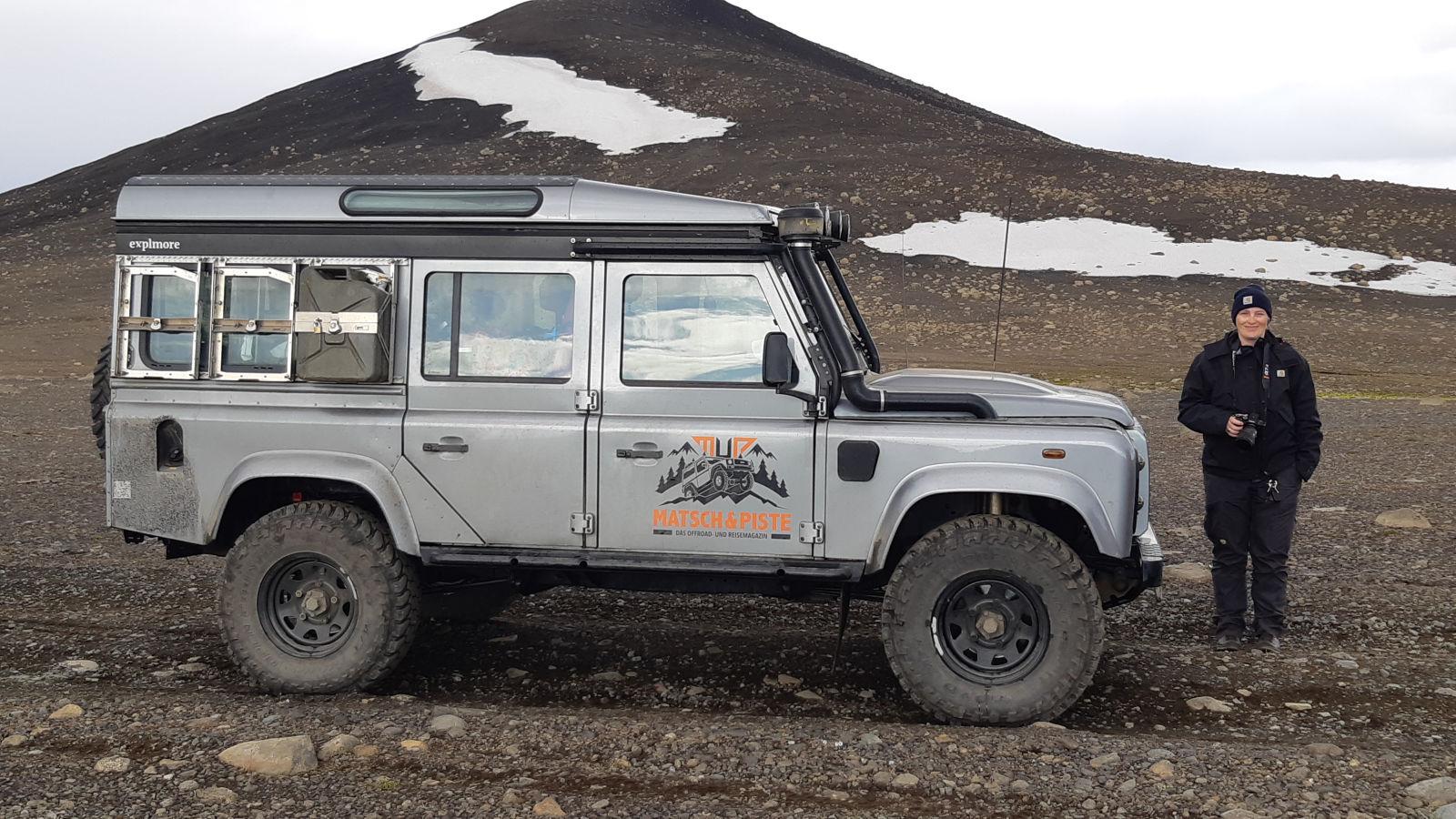 So stellt man sich Island eher vor, kalt.