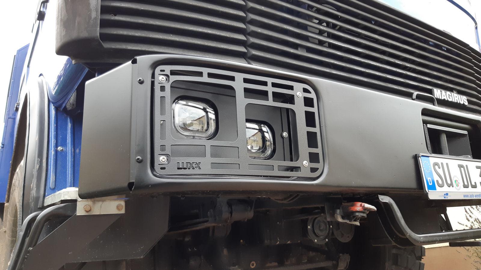 Der Scheinwerfer LUXX LED-Umbausatz von de Nähe.